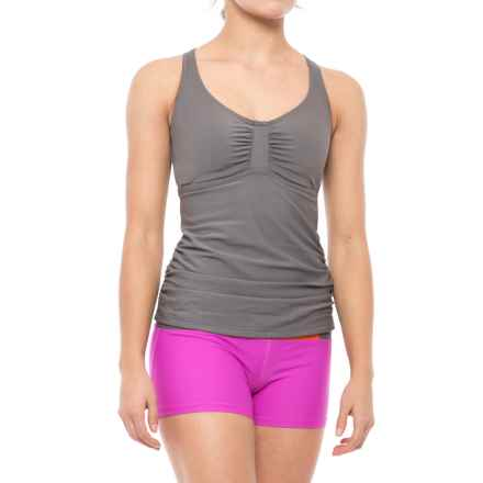 prAna Aelyn Tankini Top - UPF 50+ (For Women) in Moonrock - Closeouts