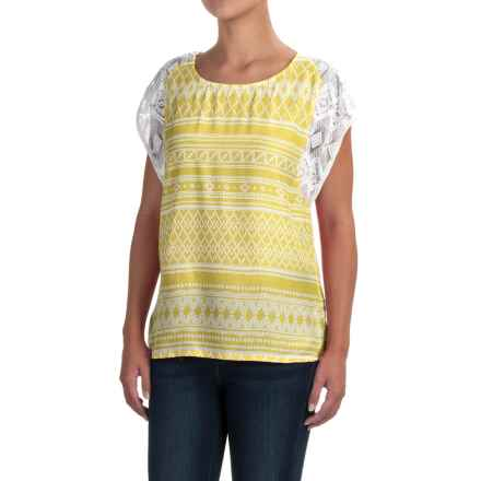 prAna Aleen Shirt - Lenzing Modal®, Sleeveless (For Women) in Lemongrass - Closeouts
