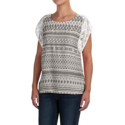 prAna Aleen Shirt - Lenzing Modal®, Sleeveless (For Women) in Moonrock - Closeouts