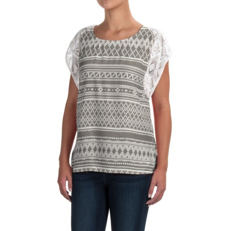 prAna Aleen Shirt - Lenzing Modal®, Sleeveless (For Women) in Moonrock