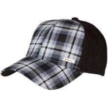 prAna Alfie Ball Cap (For Men) in Black Plaid - Closeouts