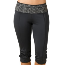prAna Alyson Knickers (For Women) in Coal - Closeouts