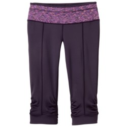 prAna Alyson Knickers (For Women) in Dark Eggplant