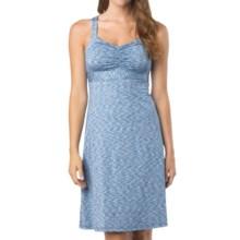 prAna Amaya Space Dye Dress - Sleeveless (For Women) in Azure - Closeouts