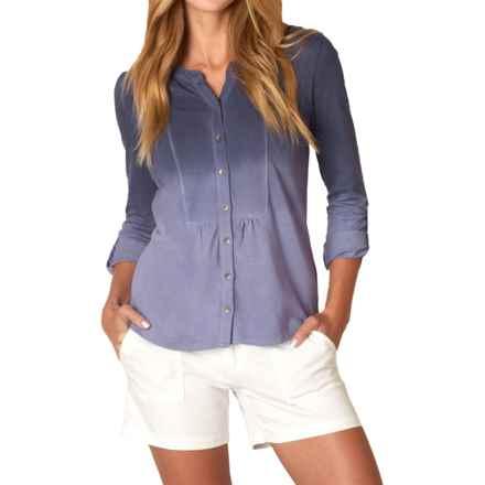 prAna Amber Shirt - Long Sleeve (For Women) in Purple Fog - Closeouts