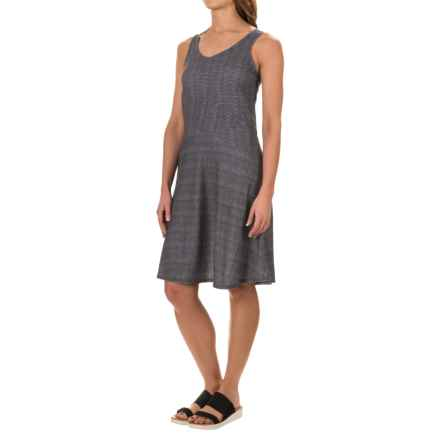 prAna Amelie Dress - Sleeveless (For Women) in Charcoal Ziggie - Closeouts