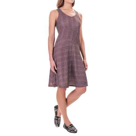 prAna Amelie Dress - Sleeveless (For Women) in Red Ziggie - Closeouts