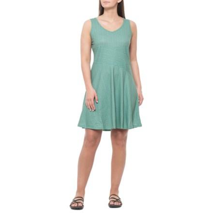 d676dd5adef prAna Amelie Tank Dress - Sleeveless (For Women) in Aquamarine Parade