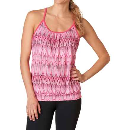 prAna Andie Tank Top - Racerback (For Women) in Azalea Feather - Closeouts