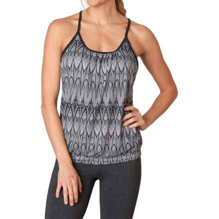 prAna Andie Tank Top - Racerback (For Women) in Black Feather - Closeouts