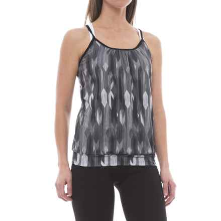 prAna Andie Tank Top - Racerback (For Women) in Charcoal Gemstone - Closeouts