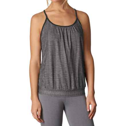prAna Andie Tank Top - Racerback (For Women) in Charcoal Ziggie - Closeouts