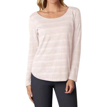 prAna Anelia Shirt - Organic Cotton, Long Sleeve (For Women) in Winter - Closeouts