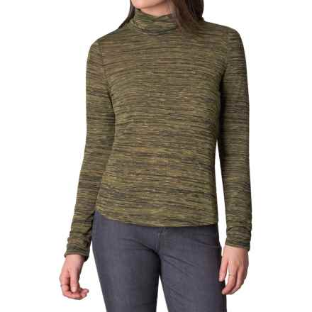 prAna Annina Turtleneck - Long Sleeve (For Women) in Saguaro - Closeouts