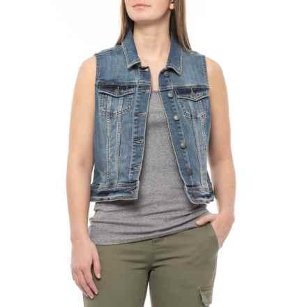 prAna Antique Blue Dree Vest - Organic Cotton (For Women) in Antique Blue - Closeouts