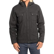 prAna Apperson Jacket - Organic Cotton (For Men) in Charcoal - Closeouts