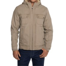 prAna Apperson Jacket - Organic Cotton (For Men) in Dark Khaki - Closeouts