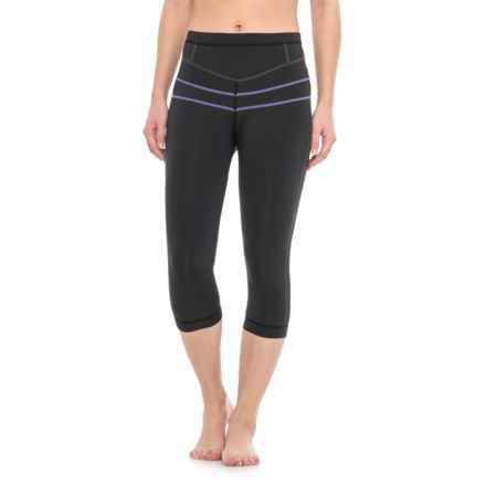 prAna Ara Swim Tights - UPF 50+ (For Women) in Solid Black - Closeouts