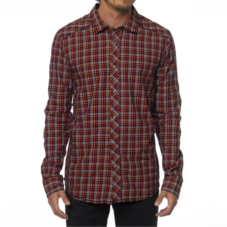 prAna Archer Shirt Organic Cotton, Long Sleeve (For Men)