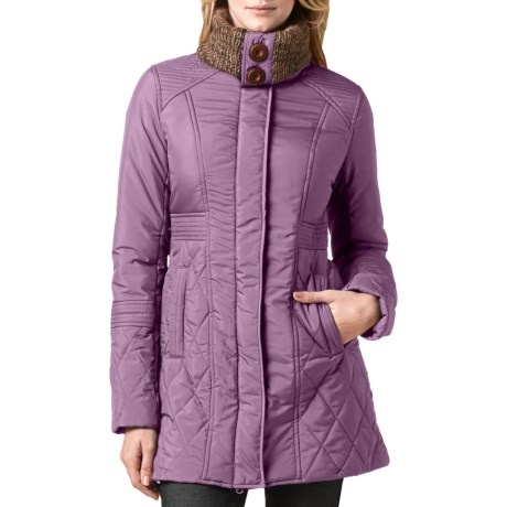 prAna Arden Jacket - Insulated (For Women) in Vintage Grape