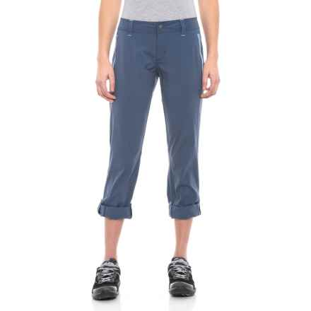 abd887e200 prAna Aria Pants - Mid Rise (For Women) in Equinox Blue - Closeouts