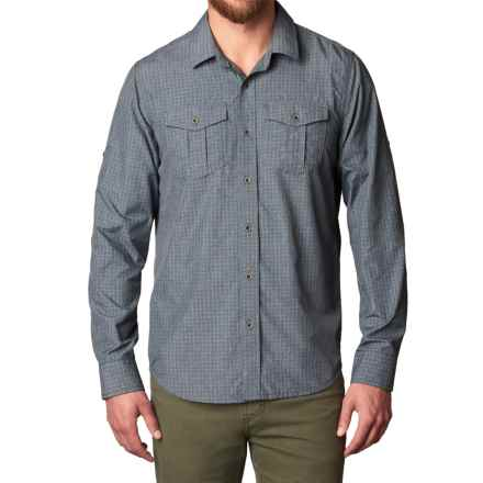 prAna Ascension Shirt - UPF 30+, Long Sleeve (For Men) in Dream Blue - Closeouts