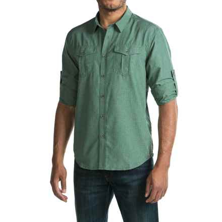 prAna Ascension Shirt - UPF 30+, Long Sleeve (For Men) in Mint - Closeouts