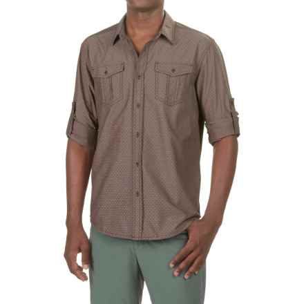prAna Ascension Shirt - UPF 50+, Long Sleeve (For Men) in Acorn - Closeouts