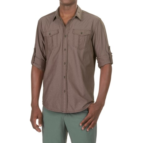 prAna Ascension Shirt - UPF 50+, Long Sleeve (For Men) in Acorn