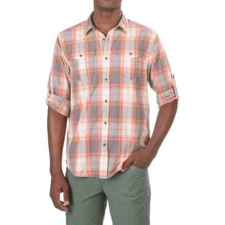prAna Ascension Shirt - UPF 50+, Long Sleeve (For Men) in Orange Crush - Closeouts