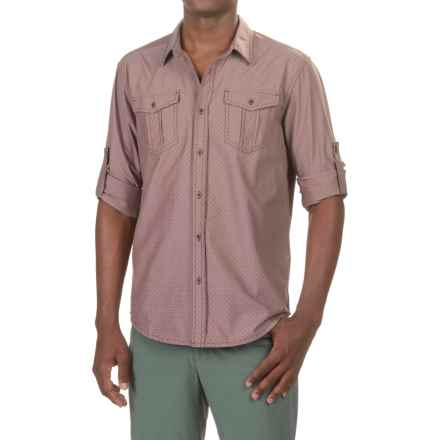 prAna Ascension Shirt - UPF 50+, Long Sleeve (For Men) in Raisin - Closeouts