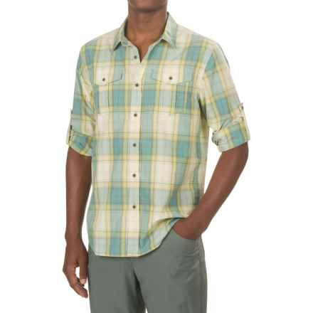 prAna Ascension Shirt - UPF 50+, Long Sleeve (For Men) in True Teal - Closeouts