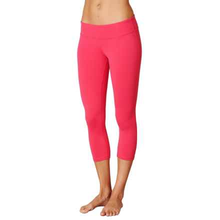 prAna Ashley Compression Capris - Low Rise (For Women) in Azalea - Closeouts
