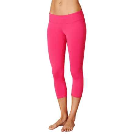 prAna Ashley Compression Capris - Low Rise (For Women) in Cosmo Pink - Closeouts