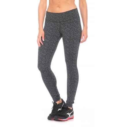 prAna Ashley Leggings - Supplex® Nylon, Low Rise (For Women) in Charcoal Heather Puzzled - Closeouts
