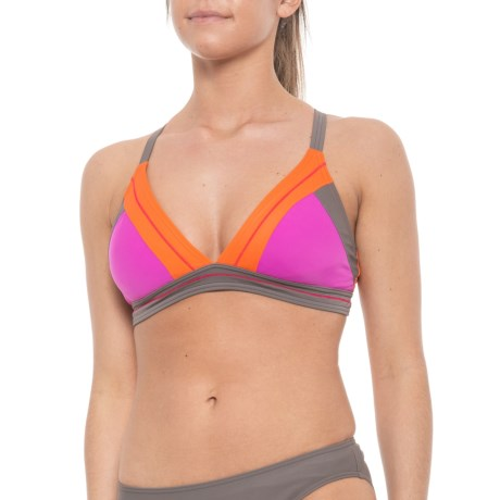 4f0abe717f prAna Atla Bikini Top - UPF 50 (For Women) in Orchid Bloom