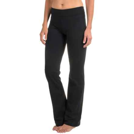 prAna Audrey Yoga Pants - Tall Inseam (For Women) in Black - Closeouts