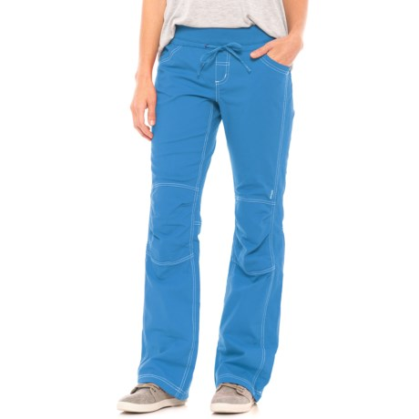 prAna Avril Stretch Pants (For Women) in Vortex Blue