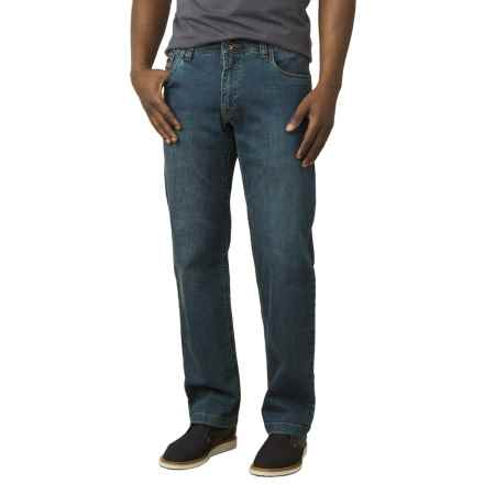 prAna Axiom Jeans - Cotton Blend (For Men) in Antique Stone Wash - Closeouts