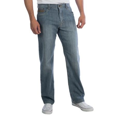 prAna Axiom Jeans (For Men) in Antique Blue
