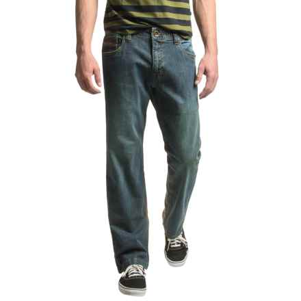 prAna Axiom Jeans (For Men) in Antique Stone Wash - Closeouts