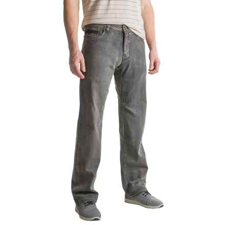prAna Axiom Jeans (For Men) in Charcoal Wash - Closeouts