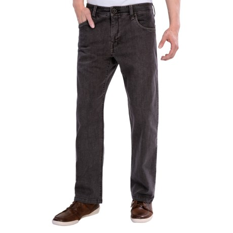 prAna Axiom Jeans (For Men) in Dark Grey