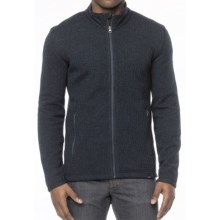 prAna Barclay Sweater - Full Zip (For Men) in Nautical - Closeouts