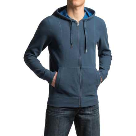prAna Barringer Hoodie - Organic Cotton, Zip Front (For Men) in Blue Ridge - Closeouts