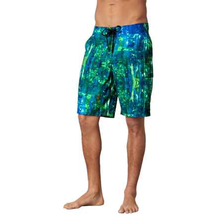 prAna Basalt Studio Shorts (For Men) in Typhoon Print - Closeouts