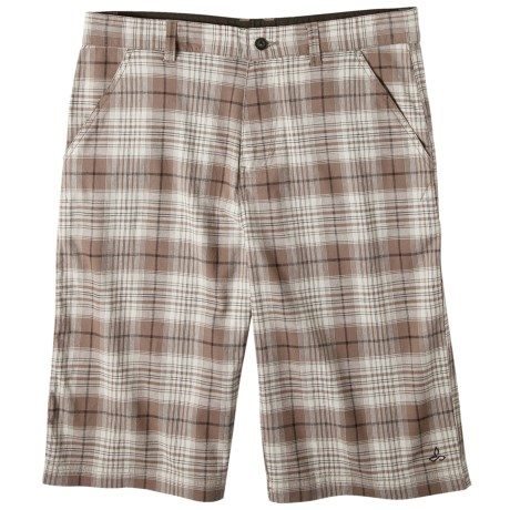 prAna Baxter Shorts - Stretch Cotton (For Men) in Brown