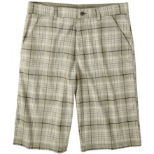 prAna Baxter Shorts - Stretch Cotton (For Men) in Fatigue - Closeouts