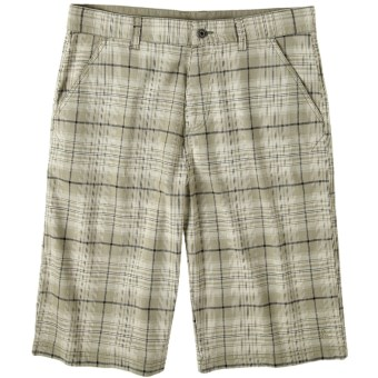 prAna Baxter Shorts - Stretch Cotton (For Men) in Fatigue