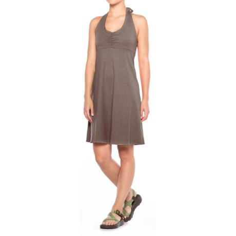 prAna Beachside Halter Top Dress (For Women) in Moonrock